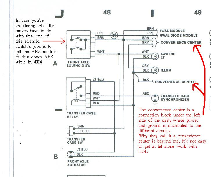 Chevy 4wd Wiring Diagram - Wiring Diagram Best DATA