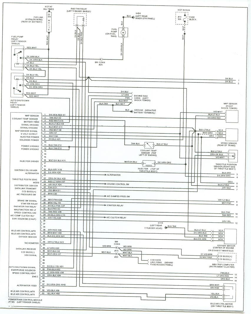 [DIAGRAM_0HG]  93 Plymouth Acclaim Fuel Pump Relay/Wiring? - Automotive Wiring and  Electrical | 1992 Plymouth Acclaim Wiring Diagram |  | Carjunky Forum