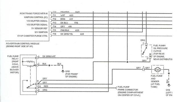 Safari Fuel Pump Relay- U0026quot Where  U0026quot  Help